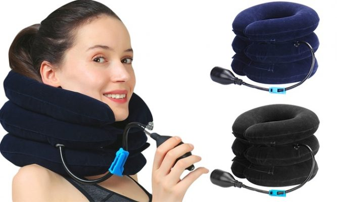 INFLATABLE CERVICAL TRACTION MACHINE